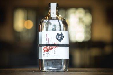Pharma Bottle Gives LoneWolf Spirits' Prototype Gin Craft Appeal
