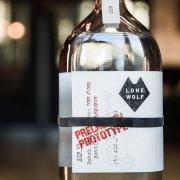 Sloping Shoulder Bottle for LoneWolf craft gin