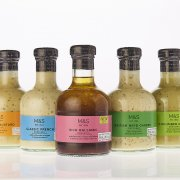 M&S Glass Dressing bottles