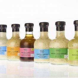 Beatson Clark Creates Smaller Stylish Bottle for M&S Dressings