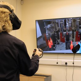 Virtual Reality Software Revolutionises IS Machine Training