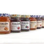 Folláin Rebrand glass food jars with Beatson Clark