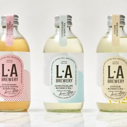 Apothecary Bottle Lends Distinctive Look to Kombucha