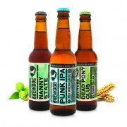 Beatson Clark 330ml BrewDog Amber Beer bottle