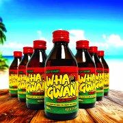 Wha Gwan 300ml amber glass rum