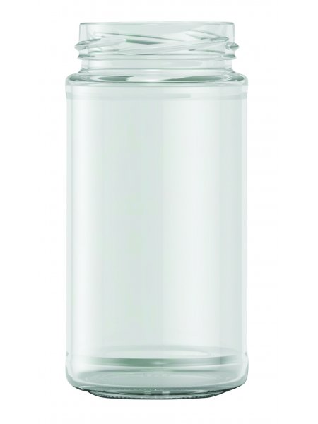 271ml Tall Panelled Food Jar