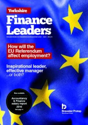 Yorkshire Finance Leaders Issue 1 April 2106