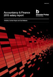 Accountancy & Finance Salary Report 2015