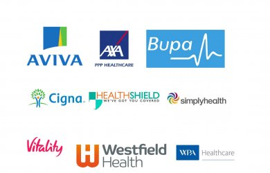 Chapman Physiotherapy is registered with all the major Health Insurance Providers