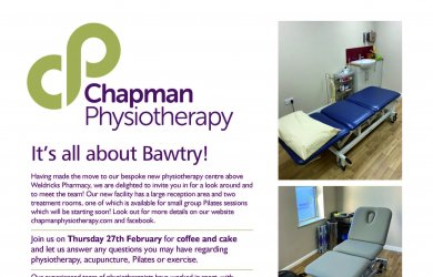 It's All About Bawtry - Join us on Thursday 27th February at our new Bawtry Clinic