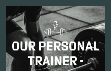 Personal Trainer Lloyd Hayes is back from Monday 27th July
